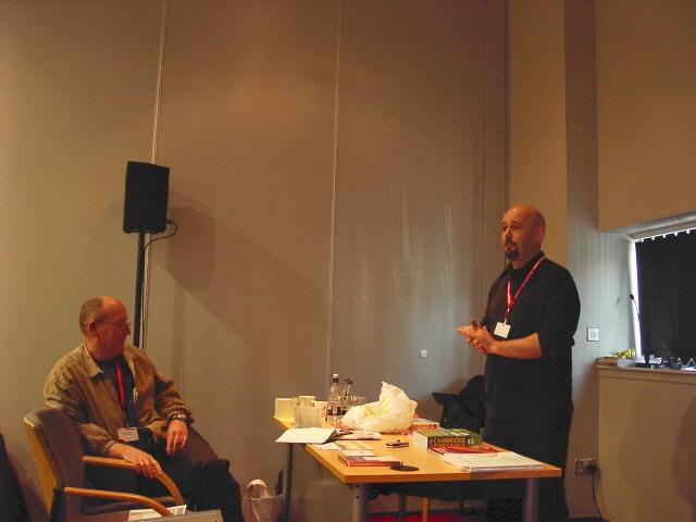 Gary Motteram (left) and Gavin Dudeney (right)
